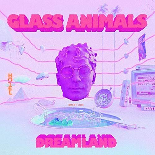 Glass Animals Dreamland electrónico popular álbum de música póster lienzo pintura arte póster impresión hogar pared decoración de la sala de estar -50x75 pulgadas sin marco