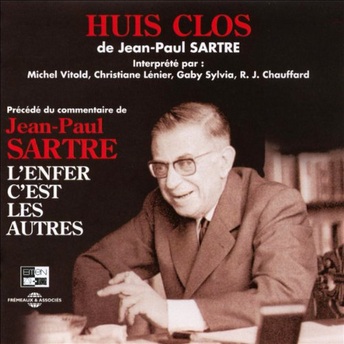 Huis clos  audiobook cover art