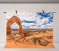 HDブルースカイホワイトクラウド10x7ftグランドキャニオン背景写真自然風景写真ブースバナー小道具WQFU063