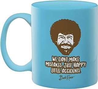 Bob Ross Happy Little Accidents Coffee Mug - 20 Oz Artist Portrait Tea Cup