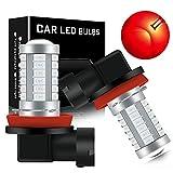 KaiDengZhe Super Bright Red H11/H8 Fog Light Bulbs DRL 5730 33-SMD 12V Daytime Running Lights Fog Lamp Driving DRL LED Lights Bulbs Replacement for Cars,Truckss