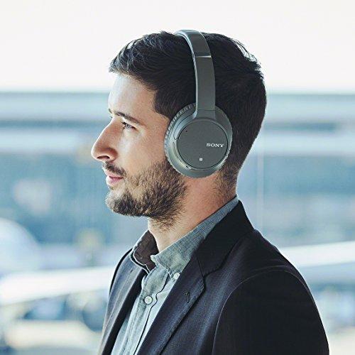 ソニーワイヤレスノイズキャンセリングヘッドホンWH-CH700N:Bluetooth対応最大35時間連続再生マイク付き2018年モデルグレーWH-CH700NH
