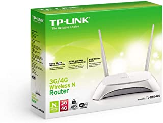 TP-Link 3G/4G Wireless N Router [TL-MR3420]