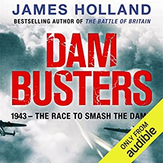 Dam Busters audiobook cover art