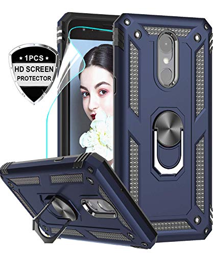LG Rebel 4 Ring Holder Stand Cover by LeYi