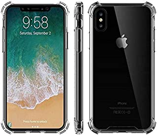 Drop Protection Clear Transparent Case For Iphone Xs Max Anti- Knock Phone Cover