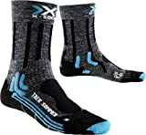 X-Socks Trekking Summer, Calze Donna, Antracite/Nero, 35/36