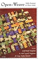 Tiger Lily Press Open-Weave Pattern No. TLP1229 Table Runner and Place Mats Goof Proof Templates [並行輸入品]