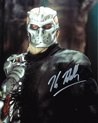 KANE HODDER as Jason Voorhees / Uber Jason - Jason X GENUINE AUTOGRAPH