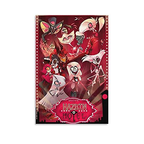 Hazbin Hotel Anime Comics and Wall Art Picture Print Modern...