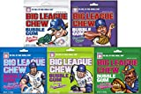Big League Chew Bubble Gum Variety Pack 5 Great Flavors With Cotton Candy, Sour Apple, Grape, Original, & Watermelon from Big League Chew