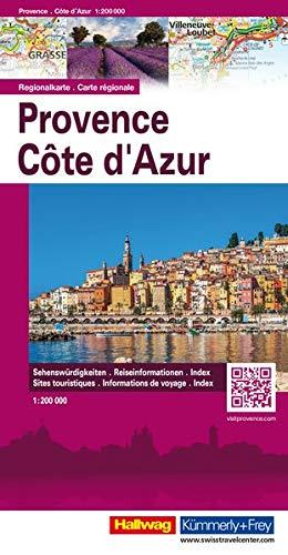 Provenza Costa Azzurra-Provence Cote d'Azur 1:200.000. Carta stradale (Carte stradali d'Europa)