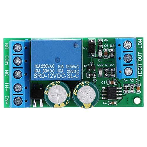SPRINGHUA Módulo Interruptor regulador del Nivel del Agua de Control automático de líquidos for el Pescado del Acuario del Tanque de 12V