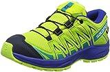 Salomon XA Pro 3D CSWP J, Zapatillas de Deporte Unisex Niños, Verde (Acid Lime/Surf The Web/Tropical Green), 26 EU