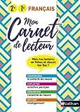 Français 2de 1re Mon carnet de lecteur