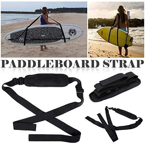 Dedeka Tabla de Surf Correa Paddle Board Correa para Hombro Ajustable Accesorios para Tabla de Surf Carrito de Surf Carrier Kayak Correa de Transporte Sup Carry Strap