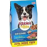 Kibbles 'N Bits Original Savory Beef & Chicken Flavors Bonus Bag Dry Dog Food, 4.2 Lb