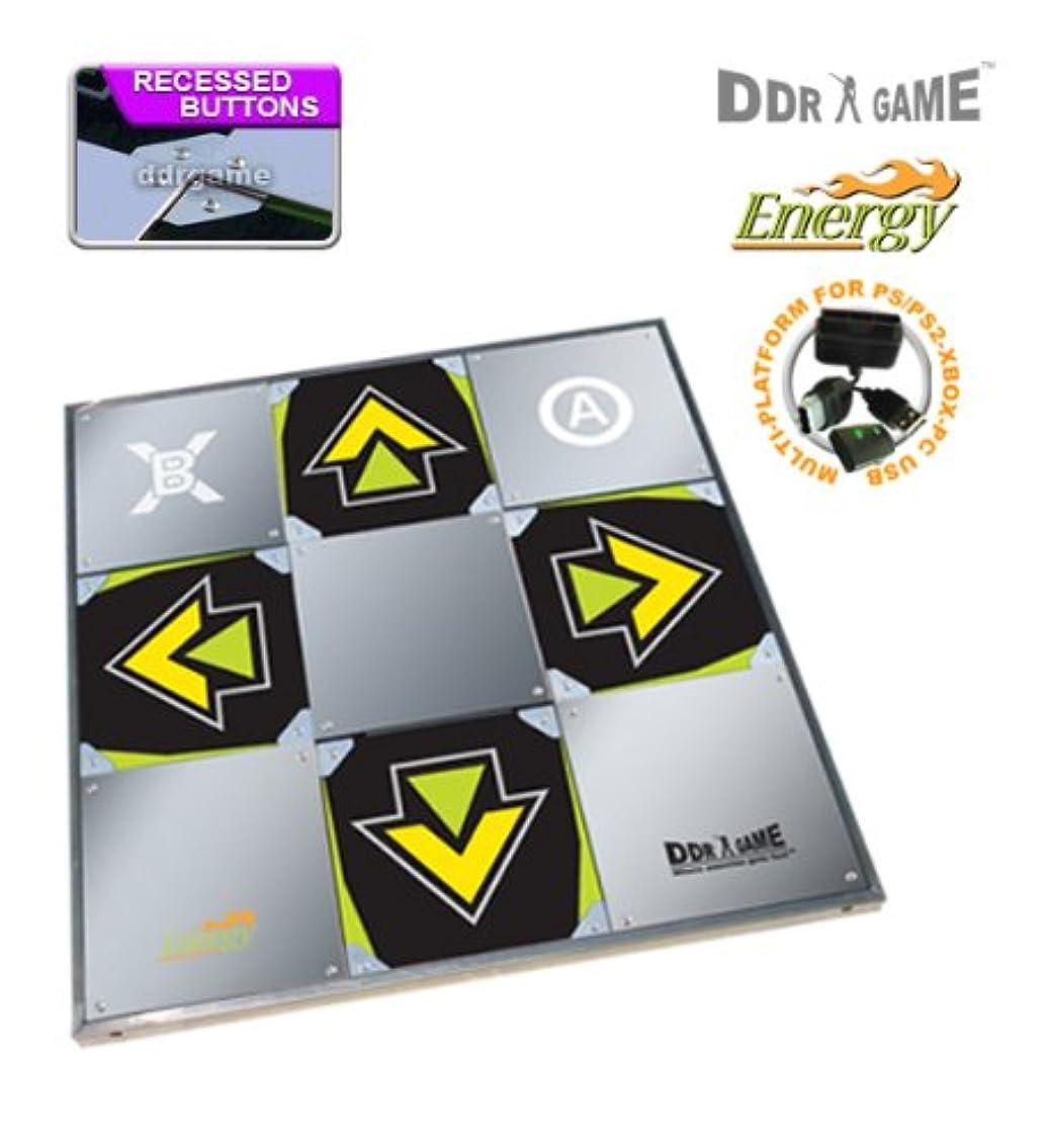 結果特派員に対応PS2 USB Energy Metal Arcade 3 in 1 Dance Pad (輸入版)