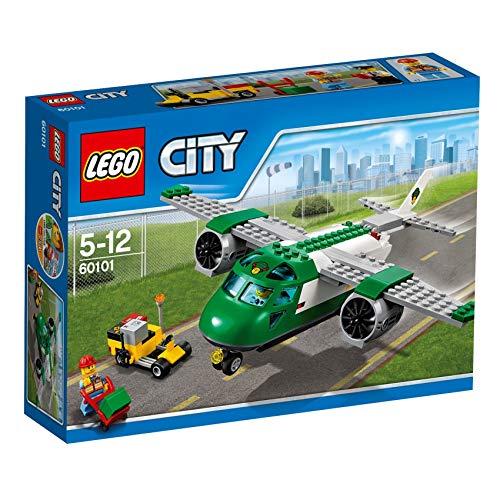 LEGO City 60101 - Flughafen-Frachtflugzeug, Bausteinspielzeug