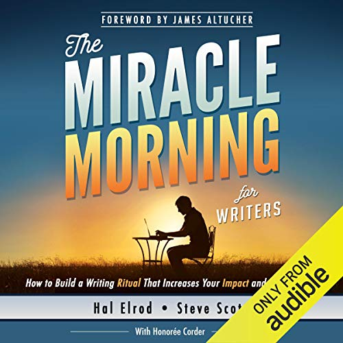 Page de couverture de The Miracle Morning for Writers