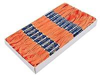 147 couleursFil d'Épaisseur environ. 0,8 mm Poids 2 gTchèque traditionnel produit dans une large gamme de couleurs. Il y a 24 faisceaux de fils dans une boîte. Il y a 8m sur un fil bundle. Le fil se compose de 6 facilement divisible threads. Mélange ...