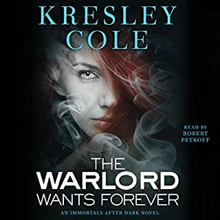 The Warlord Wants Forever audiobook cover art