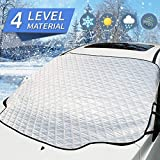 MITALOO Car Windshield Snow Cover with 4 Layers Protection, Frost Ice Removal Sun Shade fo...