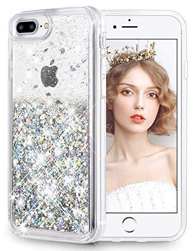 Combo 3 En 1 Cristal Tpu Bling Glitter Funda Para Iphone X Plus 6