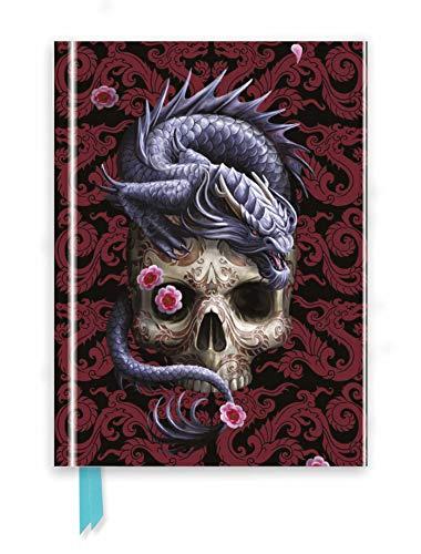 Anne Stokes: Oriental Dragon (Foiled Journal) (Flame Tree Notebooks) (Premium Notizbuch DIN A 5 mit Magnetverschluss)