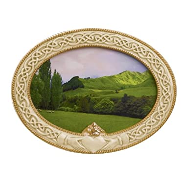 Grasslands Road 448684 Celebrating Heritage Celtic Claddagh Frame, 5-1/2 by 7-1/2-Inch, Holds 4 by 6 Photo