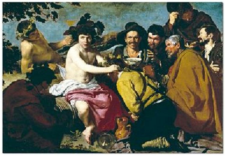 John N. Hansen Los Borrahos 1500 Piece Puzzle