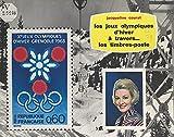 Les jeux olympiques d'hiver: À travers les timbres-poste (French Edition)