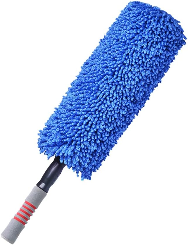 Flystcn Car Cleaning Limited price sale Brush PP Dust Retractable Max 70% OFF Handle Cotton