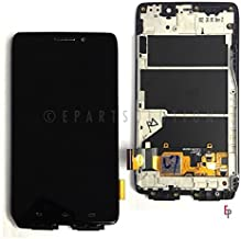 ePartSolution-OEM Motorola Droid Ultra XT1080 MAXX 1080M LCD Display Touch Screen Digitizer Front + Frame Assembly Replacement Part USA Seller