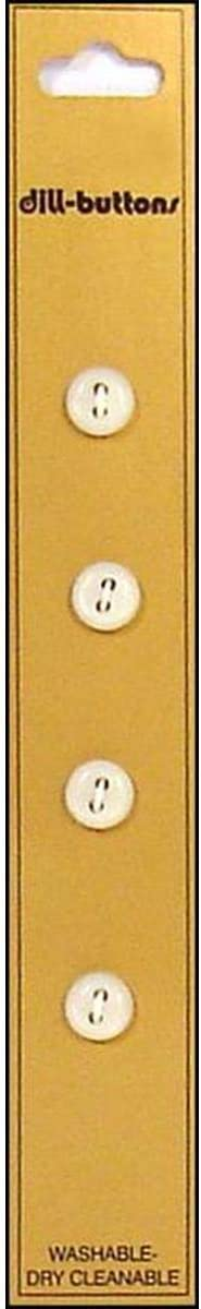 Max 43% OFF Dill Buttons 8mm 4pc 2 Max 43% OFF hole White