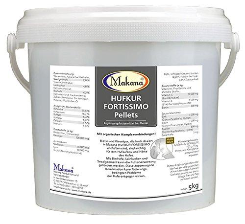 Makana Hufkur FORTISSIMO Pellets, 5 kg Eimer