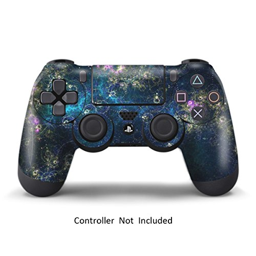 Skins for PS4 Controller - Stickers for Playstation 4 Games - Decals Cover for PS4 Slim Sony Play Station Four Controllers PS4 Pro Accessories PS4 Remote Wireless Dualshock 4 Skin - Universe