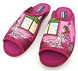 Casadona - Zapatillas Mujer Casa Primavera - Verano  Chanclas Cama Bonitas Fantasía (Rosa, Numeric_35)