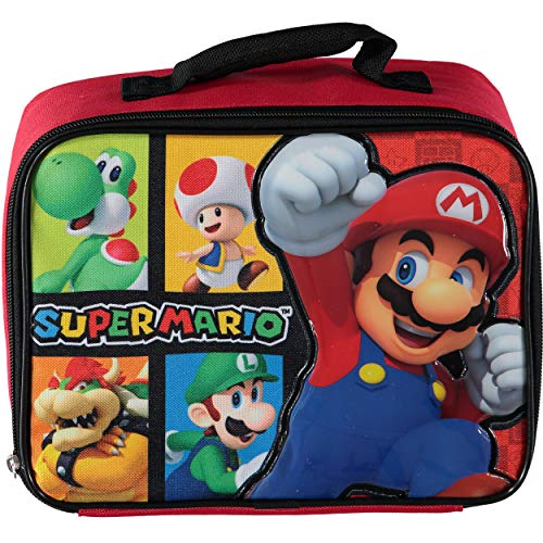 Super Mario Brothers Soft Lunch Box