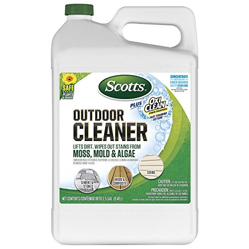 Scotts Outdoor Cleaner Plus OxiClean Concentrate, 2.5 gal.