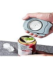 Boven zonder blikopener, draaibaar, blikopener, draagbare blikopener, keuken, dagelijks gebruik, functionele blikopener voor de huishoudkeuken