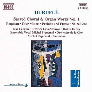 Durufle: Requiem / 4 Motets / Prelude and Fugue