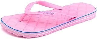 LIU-DUN SHOES Men's Thong Slipper Flip Flop Leisure Beach Sandals (Color : Pink, Size : 5 UK)