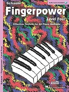 Fingerpower  - Level 4: Book/Online Audio