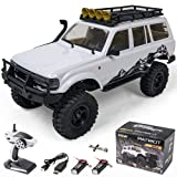 EAZYRC Patriot 1/18 RC Rock Crawler Land Cruiser Truck Climbing Car for Outdoor Indoor, 4WD Off-Road Remote Control Crawler Models RTR with Two Battery