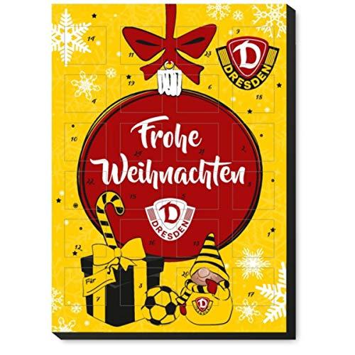 SGD Dynamo Dresden Adventskalender mit feiner Vollmilchschokolade 120g