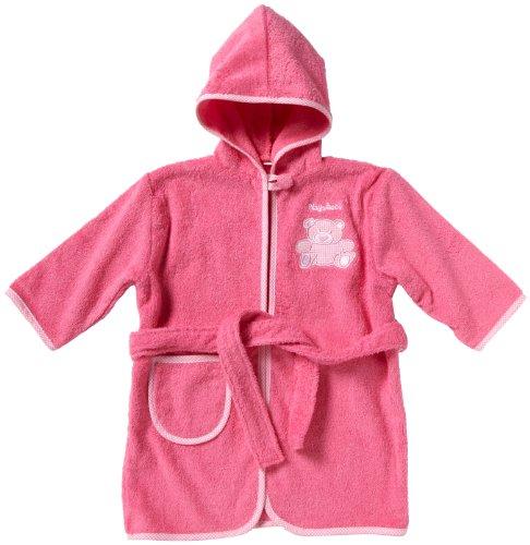 Playshoes Frottee-Bademantel 340101 Mädchen Babybekleidung/ Bademntel, Gr. 86/ 92 Pink (pink 18)