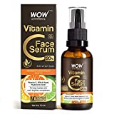 WOW Vitamin C Serum for Face and Dry Skin, Helps with Dry Skin, Age Spots, Hydrates and Lightens Skin (Suitable For All Skin Types) - 30ml