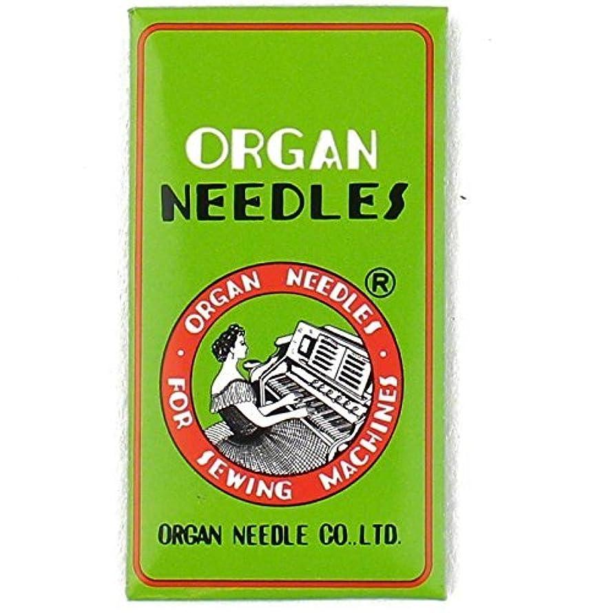 Organ HL X 5 Needles for Juki TL2000QI, TL2010Q, TL98 Series , Janome 1600P and Janome 1600P-QC Machines Size 100/16