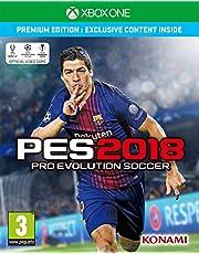 Pro Evolution Soccer 2018 (Premium Edition) (Xbox One)